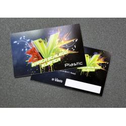 Wizytówki  1000 szt Plastic PVC 0,7mm
