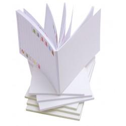 Notes Klejony - bez okładki A7 (74x105mm) 40 szt