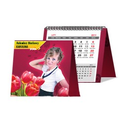 Kalendarz Biurkowy Karolina Spiralowany 50 szt
