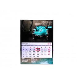 Kalendarz Jednodzielny 200szt Folia Błysk