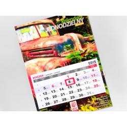 Kalendarz Jednodzielny 50szt Folia Błysk