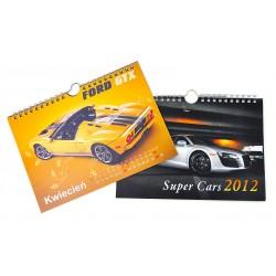Kalendarz Spiralowany 50szt A5 13-Planszowy