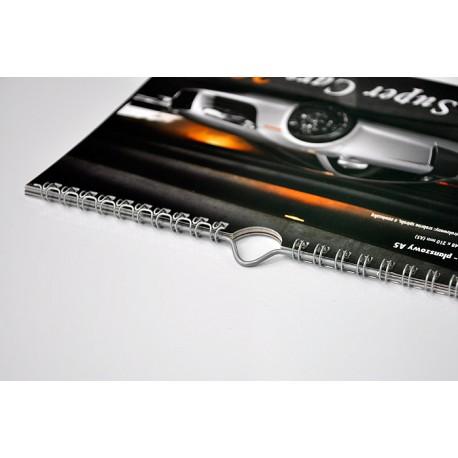 Kalendarz Spiralowany 50szt A4 13-Planszowy